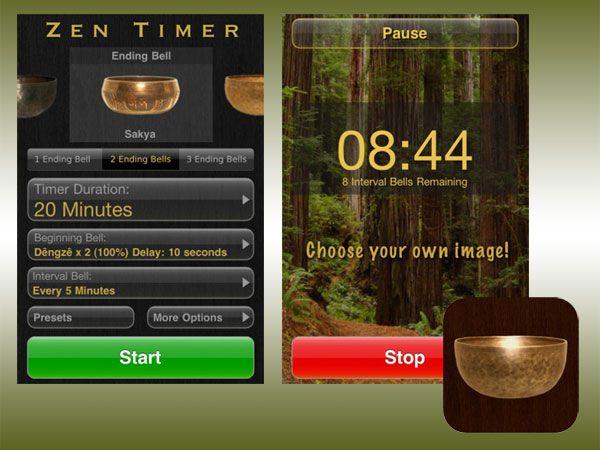 Applicazione Zen Timer