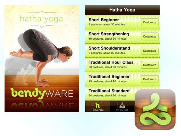 Applicazione Hatha Yoga